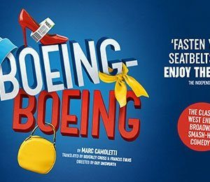 Boeing-Boeing at New Victoria Theatre