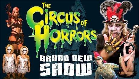 Circus of Horrors at Princess Theatre Torquay