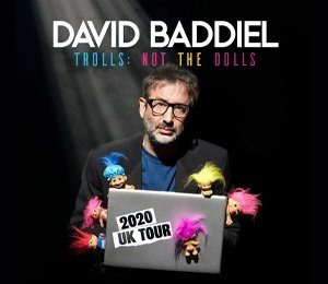 David Baddiel - Trolls: Not The Dolls at Leas Cliff Hall