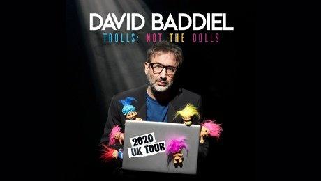 David Baddiel - Trolls: Not The Dolls at Leas Cliff Hall