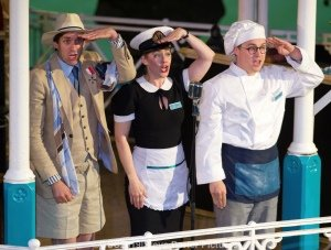 GSC Twelfth Night - Alex Scott Fairley, Emma Fenney, Isaac Stanmore (c) Steve Porter.