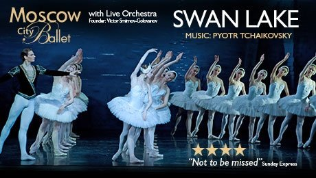 Moscow City Ballet presents Swan Lake at Aylesbury Waterside Theatre