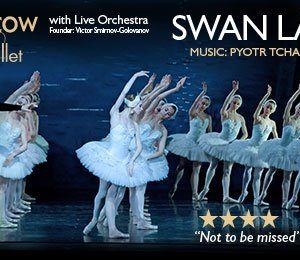 Moscow City Ballet presents Swan Lake at Palace Theatre Manchester