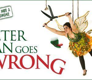 Peter Pan Goes Wrong at The Alexandra Theatre, Birmingham