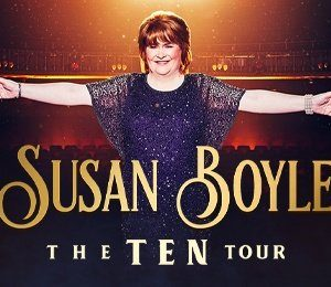 Susan Boyle at Liverpool Empire