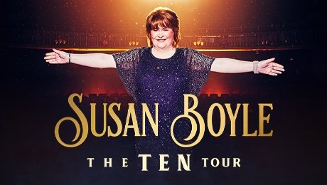 Susan Boyle at Palace Theatre Manchester
