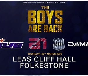 The Boys Are Back at Leas Cliff Hall