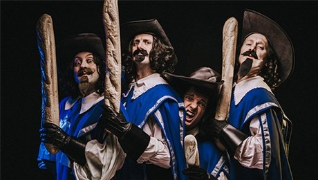 The Three Musketeers - A Comedy Adventure at Princess Theatre Torquay