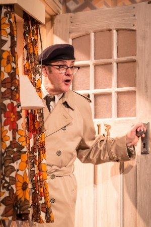 Joe Pasquale as Frank Spencer in Some Mothers Do 'Av 'Em, credit Scott Rylander.
