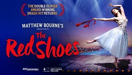 Matthew Bourne's production of The Red Shoes at King's Theatre Glasgow