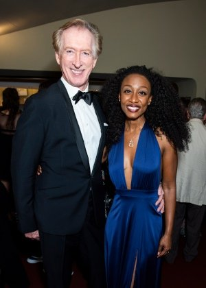 Peter Land and Beverley Knight at To Gillie With Love After-Party. Photo Credit David Jensen