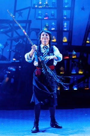 Danielle Bird - Previous Cast - The Worst Witch - UK Tour - Photograph by Manuel Harlan