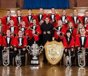 Fodens Band & Rhos Orpheus Choir Charity Concert at Victoria Hall