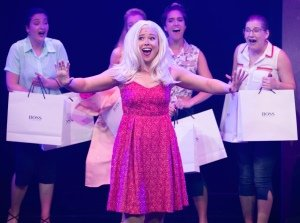 Royal Conservatoire of Scotland - Legally Blonde the Musical performed by Masters Musical Theatre students. Image RCS Robert McFadzean