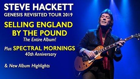 Steve Hackett - Genesis Revisited 2019 at Aylesbury Waterside Theatre