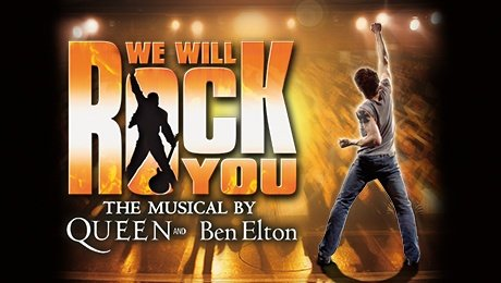 We Will Rock You at Palace Theatre Manchester