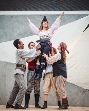 Feyesa Wakjira as Aderfi Tim Bowie as Conor Stephanie MacGaraidh as Grainne George Caporn as Donal and Heidi Lynch as Sean in TSQ