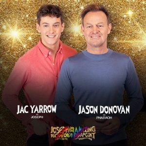 Jason Donovan and Jac Yarrow.