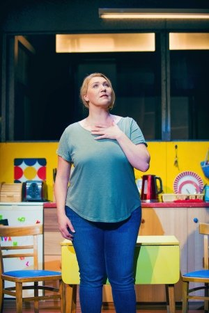 Melissa-Jacques (Margaret) in Everybody's Talking About Jamie at the Apollo Theatre. Photo credit Matt Crockett
