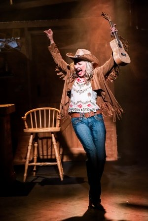 Midlife Cowboy. Georgina Field (Penny) Adam Trigg Photography.