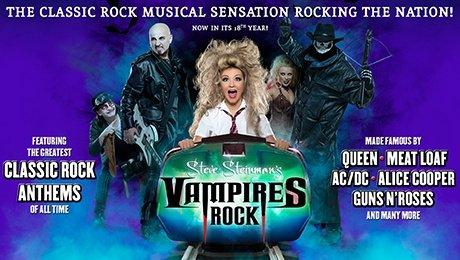 Steve Steinman's Vampires Rock - Ghost Train at Grand Opera House York