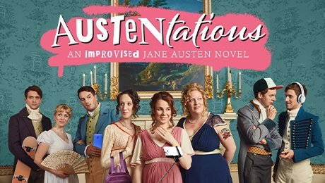 Austentatious at Fortune Theatre