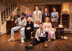 Noises Off Cast - Garrick Theatre - Credit Helen Maybanks
