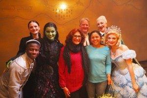 Cast of WICKED Celebrate 10 million visitors at the Apollo Victoria Theatre