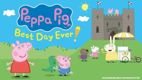 Peppa Pig's Best Day Ever at Bristol Hippodrome Theatre