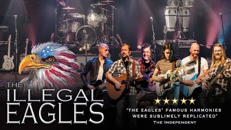 The Illegal Eagles at Leas Cliff Hall
