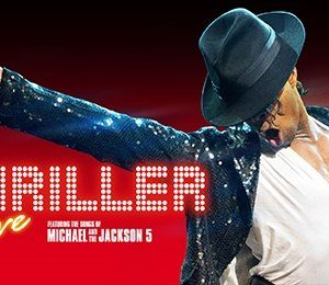 Thriller Live at Palace Theatre Manchester