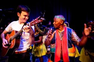 GRACELAND LIVE - Josh Turner and The South African Cultural Choir UK - Photo Hamish Gill.
