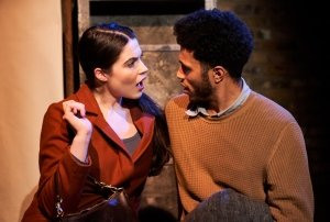 Hunger. Katie Eldred (Ylayali) & Kwami Odoom (The Young Man). Credit - Alex Brenner.