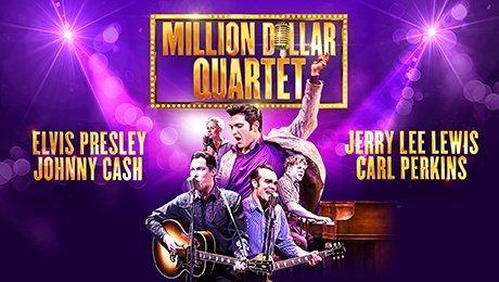 Million Dollar Quartet at Aylesbury Waterside Theatre