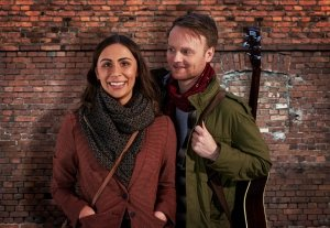 Daniel Healy as Guy and Emma Lucia as Girl - ONCE UK Tour.
