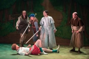 The cast in Robin Hood. Photo by Mark Sepple.