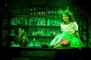 Julie Atherton (Jo) and Georgina Hellier (The Green Fairy) (c) Jack Sain
