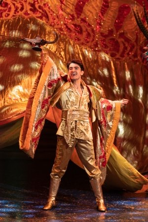 Aladdin at the Churchill Theatre, Bromley