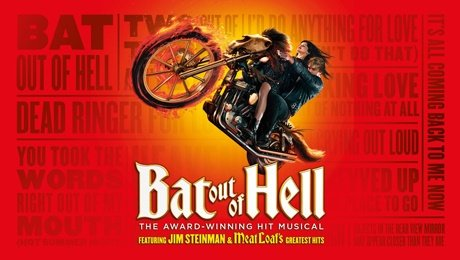 Bat Out Of Hell at New Wimbledon Theatre
