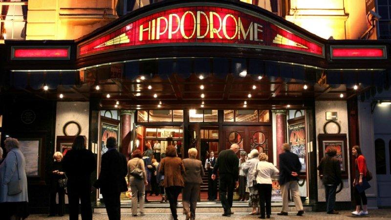 Bristol Hippodrome Entrance