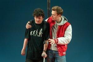 Daniel Monks (Richard) and Callum Adams (Eddie) - Photo-Marc-Brenner.