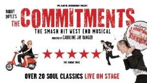 Bristol Hippodrome: The Commitments 15th - 20th February 2021.