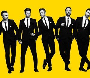 The Overtones at Victoria Hall