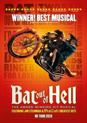 BAT OUT OF HELL UK Tour in 2020