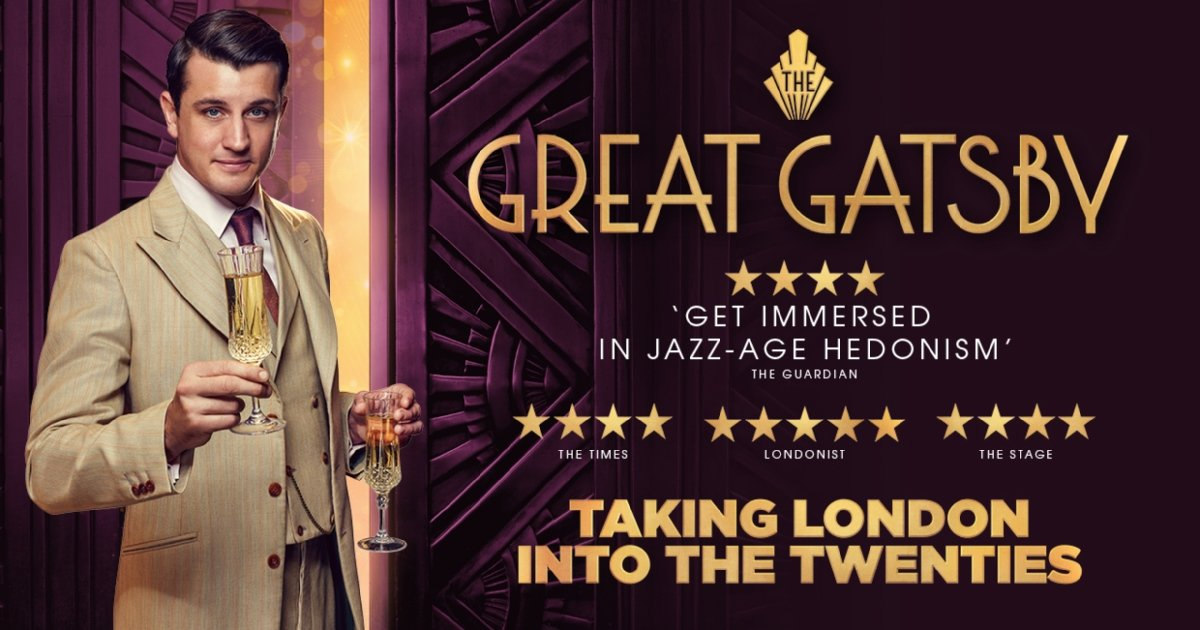The Great Gatsby Immersive London Tickets