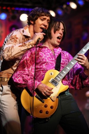 SUNNY AFTERNOON 2016-17 TOUR - Ryan O'Donnell (Ray Davies) and Mark Newnham (Dave Davies). Photo Kevin Cummins.