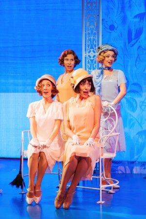 Emily Langham (Fay), Annie Southall (Dulcie), Gabrielle Lewis-Dodson (Maisie), Chloé Goodliffe (Nancy) by Manuel Harlan.