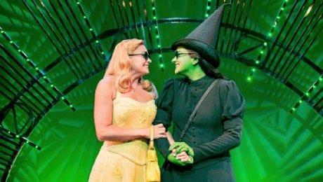 Wicked at the Apollo Victoria Theatre