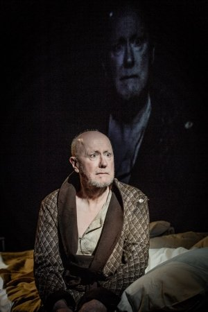 Beckett Triple Bill (Eh Joe) - Niall Buggy (Joe) at Jermyn Street Theatre. Credit to Robert Workman.
