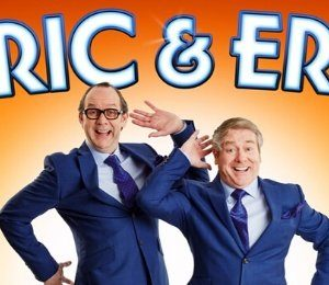 Ian Ashpitel & Jonty Stephens as Eric & Ern at Richmond Theatre